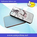 Iphone 5 sublimation cellphone case