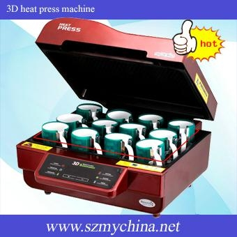 3D sublimation vacuum machine 3