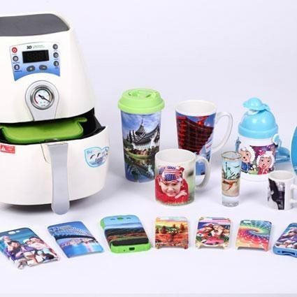 mini 3D sublimation vacuum machine 2