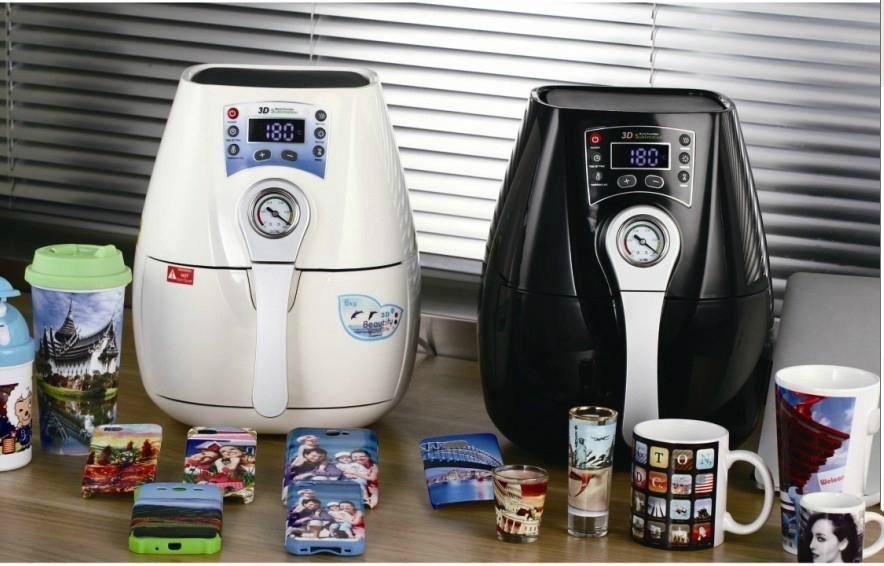mini 3D sublimation vacuum machine 4