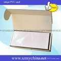 inkjet printable PVC white card