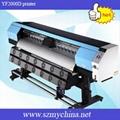 YF2000D DX5 piezo head printer