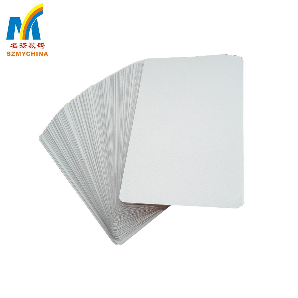 0.45mm Thick Sublimation Aluminum  Business Card 1
