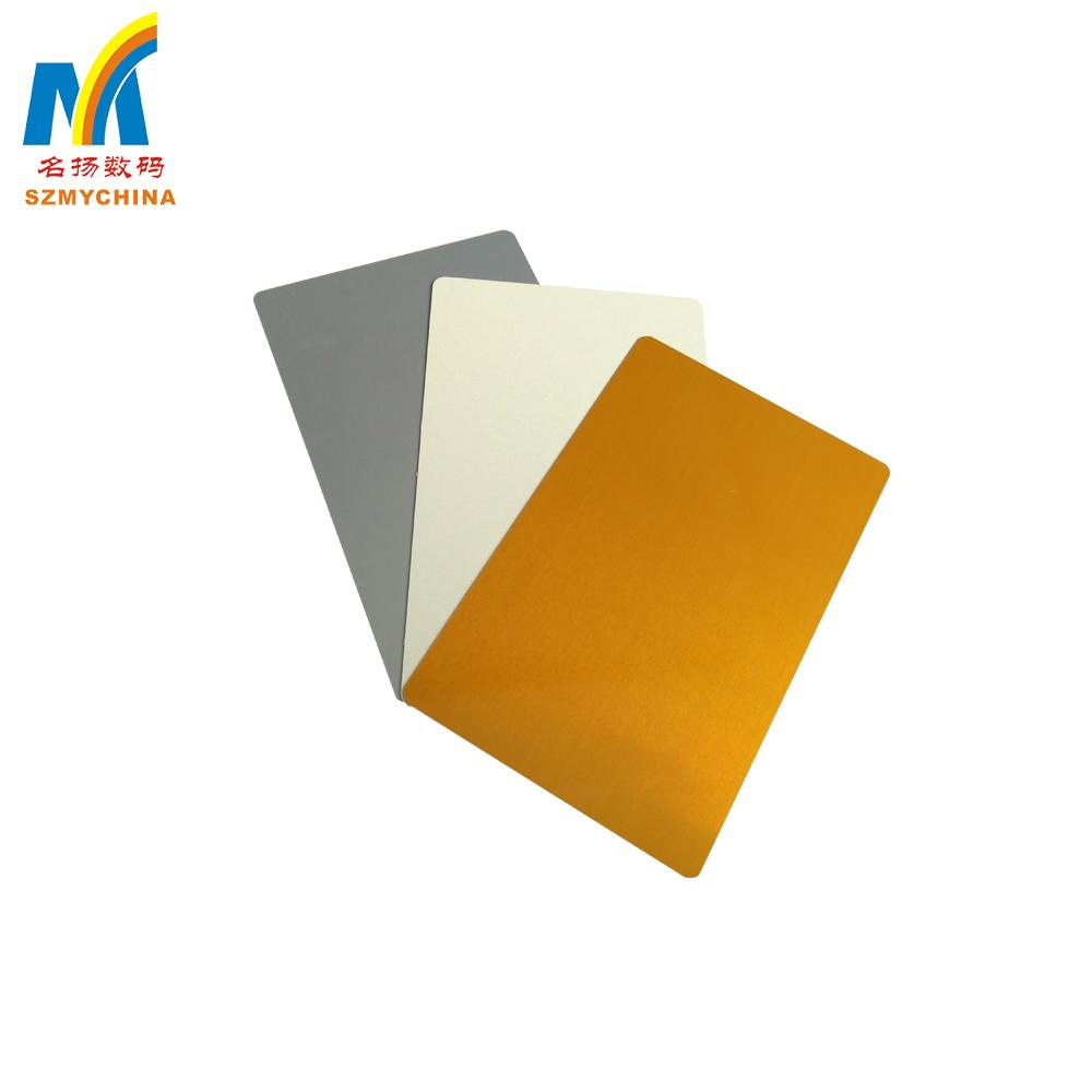 0.22mm Thick Sublimation Aluminum  Business Card 4