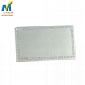 0.22mm Thick Sublimation Aluminum  Business Card