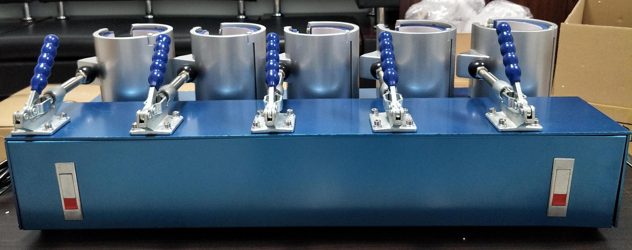 豪華版5工位烤杯機 5