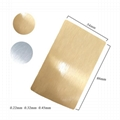0.45mm Thick Sublimation Aluminum  Business Card