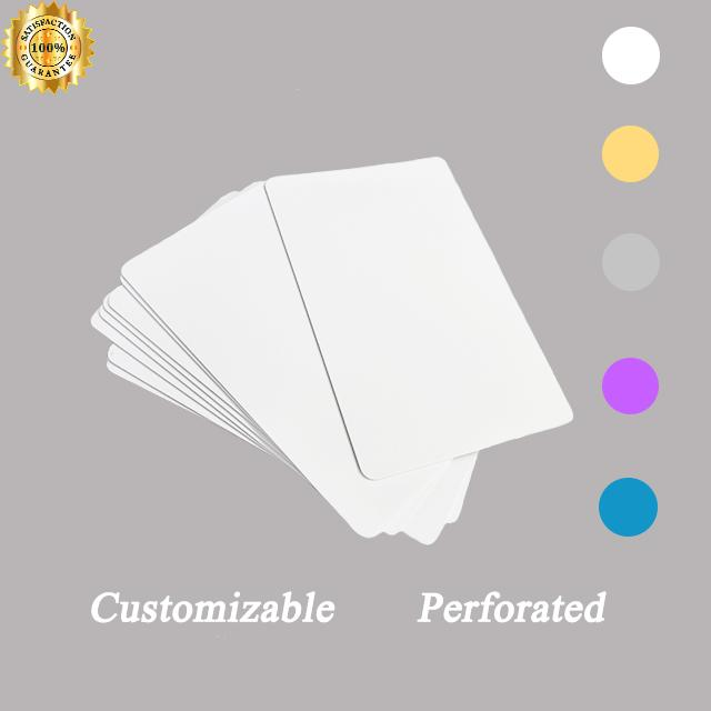 0.22mm Thick Sublimation Aluminum  Business Card 1