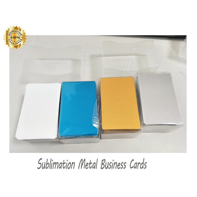 0.22mm Thick Sublimation Aluminum  Business Card 2