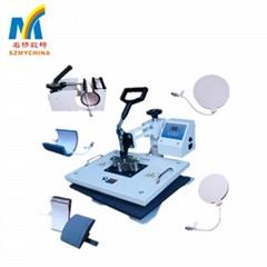 Multi-function 8 In 1 Heat Press Machine Combo