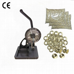 6mm Semi-automatic Eyelet Punching Machine