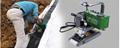 自動1800W工業瀝青膜土工膜熱風無縫拼接機 2