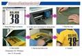 Korea Quality Glitter Heat Transfer Vinyl