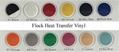 Korea Quality Flock Heat Transfer Vinyl