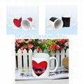 Sublimation Transfer Partial Change Color Ceramic Mug