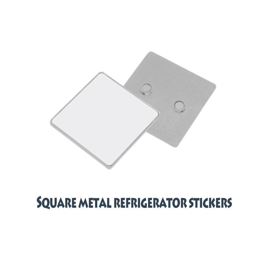批發空白熱轉印金屬冰箱貼(貼片) 8