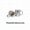 Sublimation 11OZ Ceramic Mug With Pearlescent