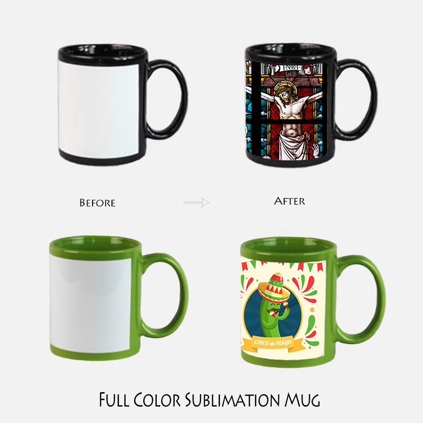 A Grade Export Full Color Sublimation Mugs 2