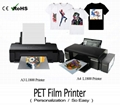 A3 A4 PET Film DTF With Inkjet Printer
