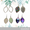 Wholesale Sublimation Metal Jewelry Blank Earring For Transfer Printing