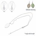 Wholesale Metal Pendant Blank Pendants For Sublimation Transfer