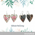 Sublimation  Blanks Metal Earring