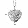 Blank Heart Shape Pendant for Sublimation Transfer