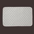 Blank Sublimation Printed Flannel Bathroom Floor Mat Toilet Mat Set