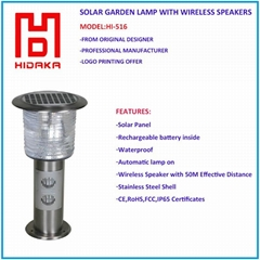 Waterproof Solar Garden Lamp