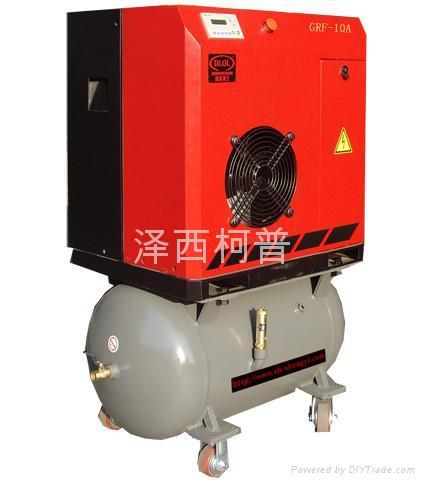 西安螺杆壓縮機GRF-10A螺杆空壓機(節能型) 1