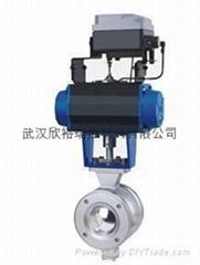 PV系列氣動V型調節閥