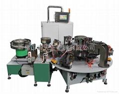 Automatic sealing spout machine