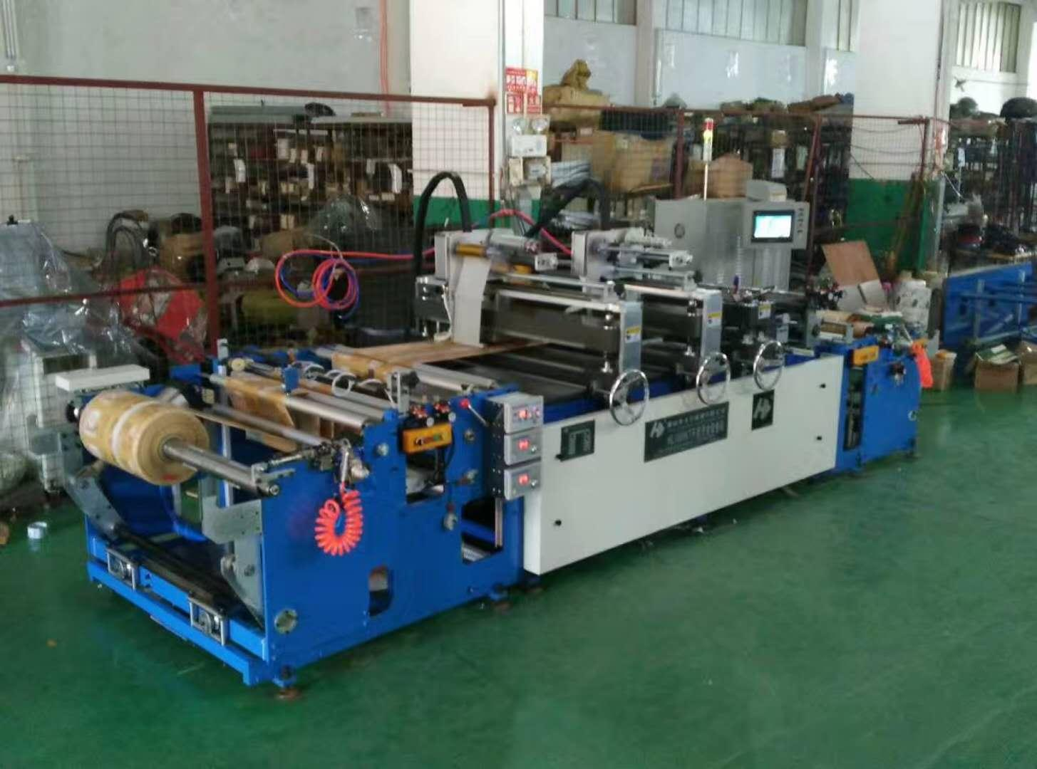 HL1000KT-D The 3rd Generation Double Lines Punching Window Rewinding Machine 2