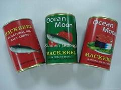 Canned Mackerel In tomato sauce/oil 425G/155G