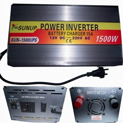 power inverter 1500W  with charger and UPS