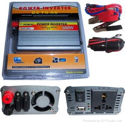 Fuse Outlay power inverter 500W 1