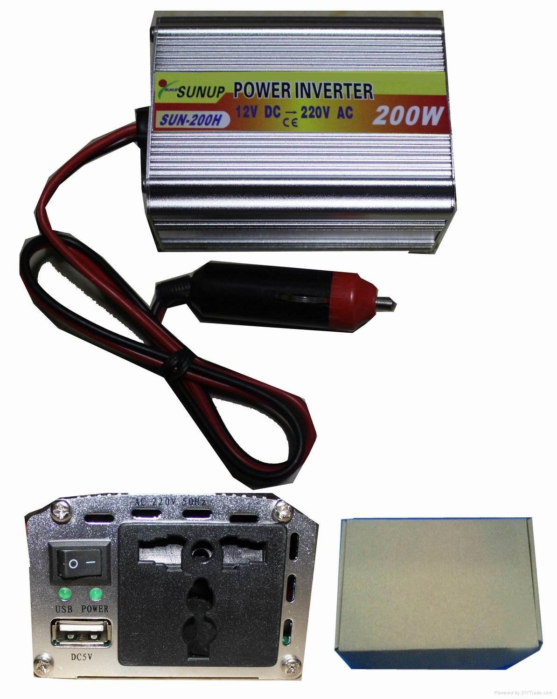 SUNUP 200W power inverter  1