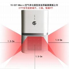 英訊YX-007-NK mini 空氣淨化器型錄音屏蔽器 廠商直銷