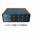 英訊YX-007-F12 分布式錄音屏蔽系統 無不適感 2
