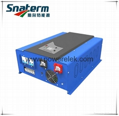 W7-12000W pure sine wave power inverter with AC charger copper transformer