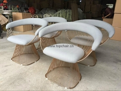 high quality stainless plater chair