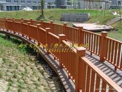 塑木(木塑)景觀橋