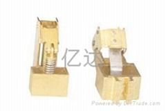 供应电机铜刷架