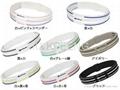 Phiten  bracelet 3 line,titanium