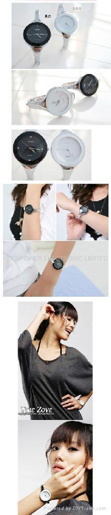 Eyki watch silver Charm Lady Fashion bracelet watches  2