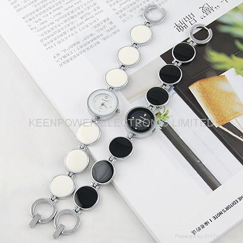 EYKI艾奇时尚手表 2812 钢表带手链表女表 2