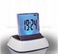 7 Color Timer Calendar Thermometer Digital Alarm Clock