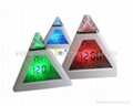 LED 7 color changing Triangle Pyramid