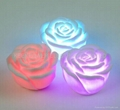 Romantic living color changing LED rose