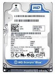 "2.5"" laptop hard disk 320G for West Digital for Dreambox"